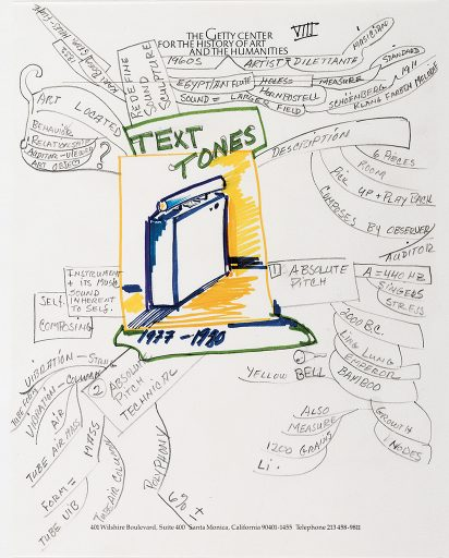 Getty Talk, Text Tones 1991