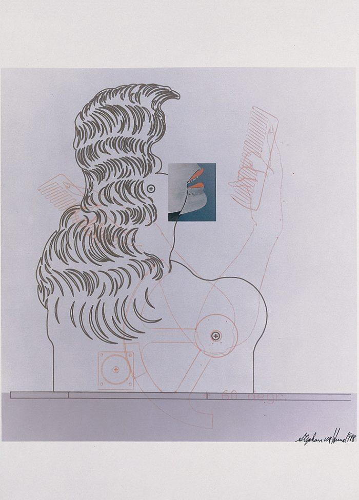 Untitled (The New Lore Ley II) sheet III 1998