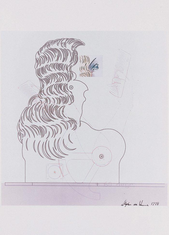 Untitled (The New Lore Ley II) sheet I 1998