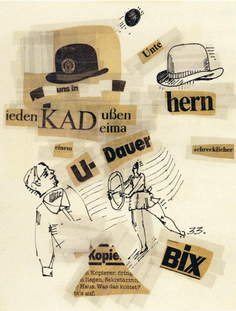 ZEIT-collages sheet 33 1980