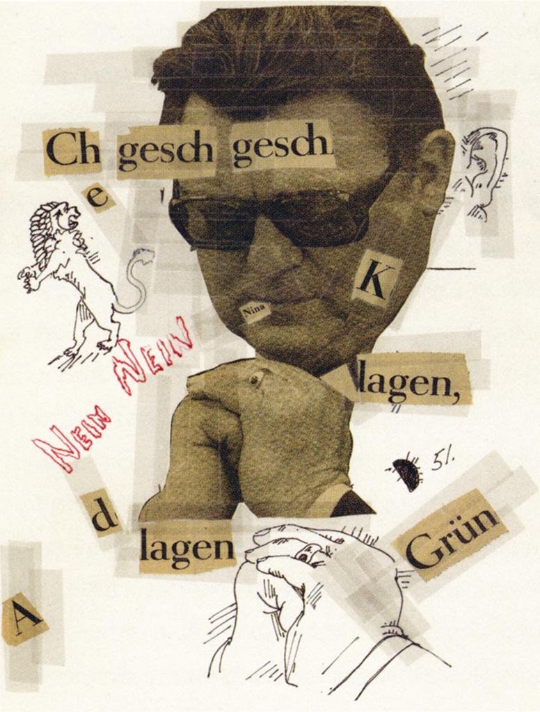 ZEIT-collages sheet 51 1980