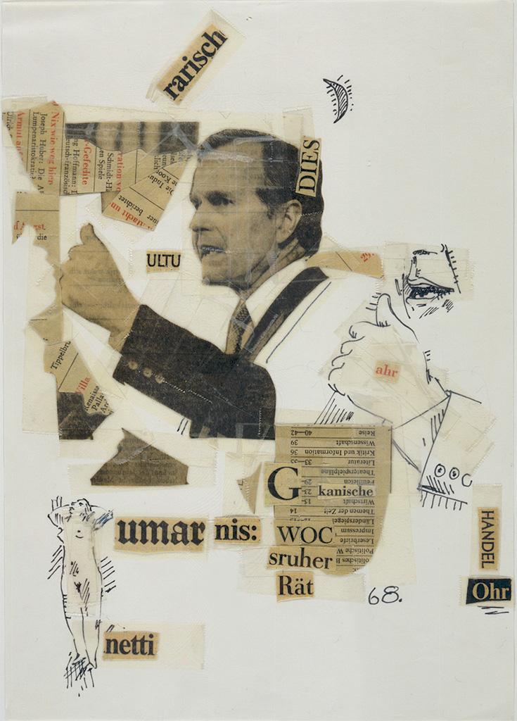 ZEIT-collages sheet 68 1980