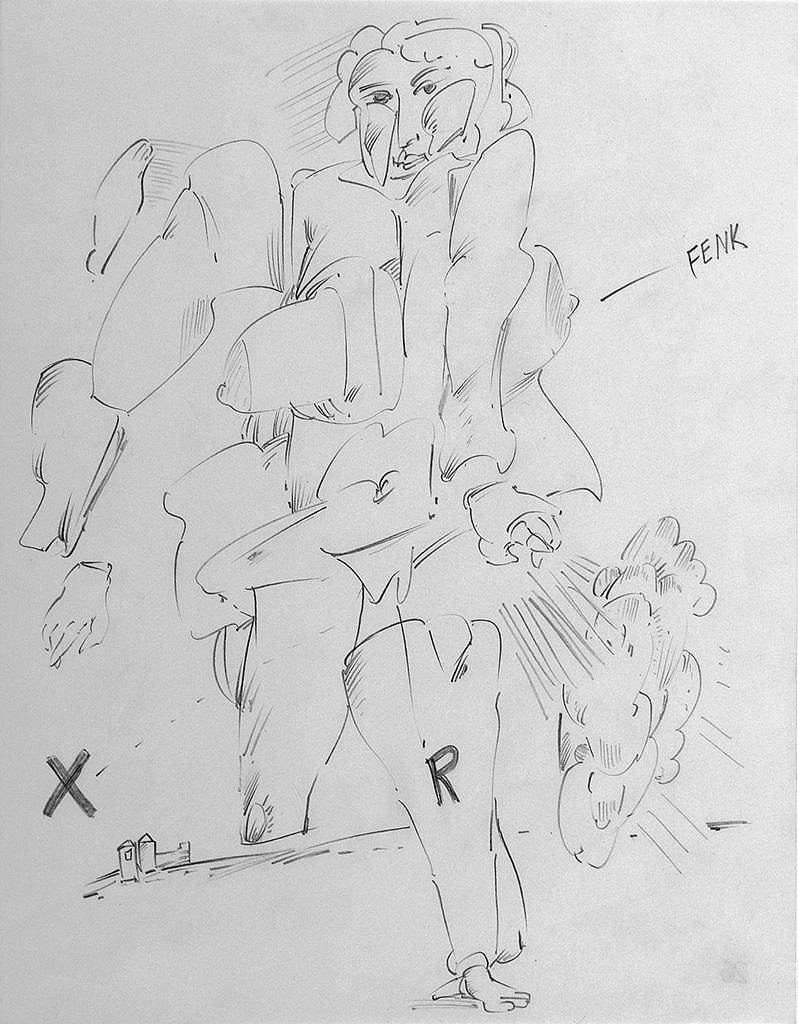Untitled (FENK) 1964