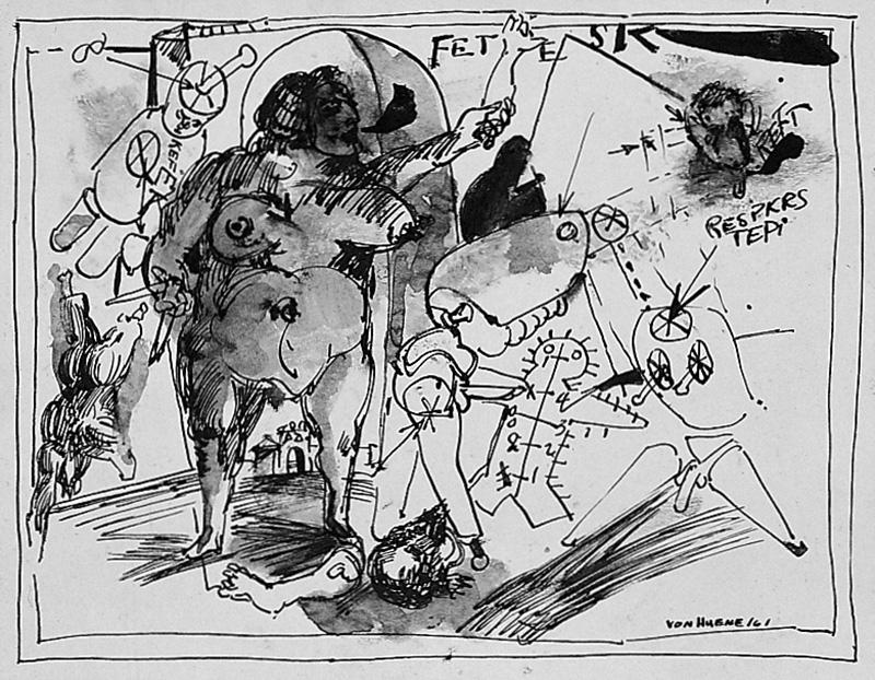 Untitled (FETESK) 1961
