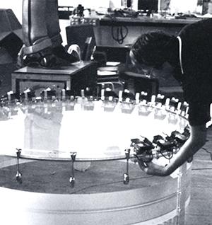 Stephan von Huene und Drum I, 1975