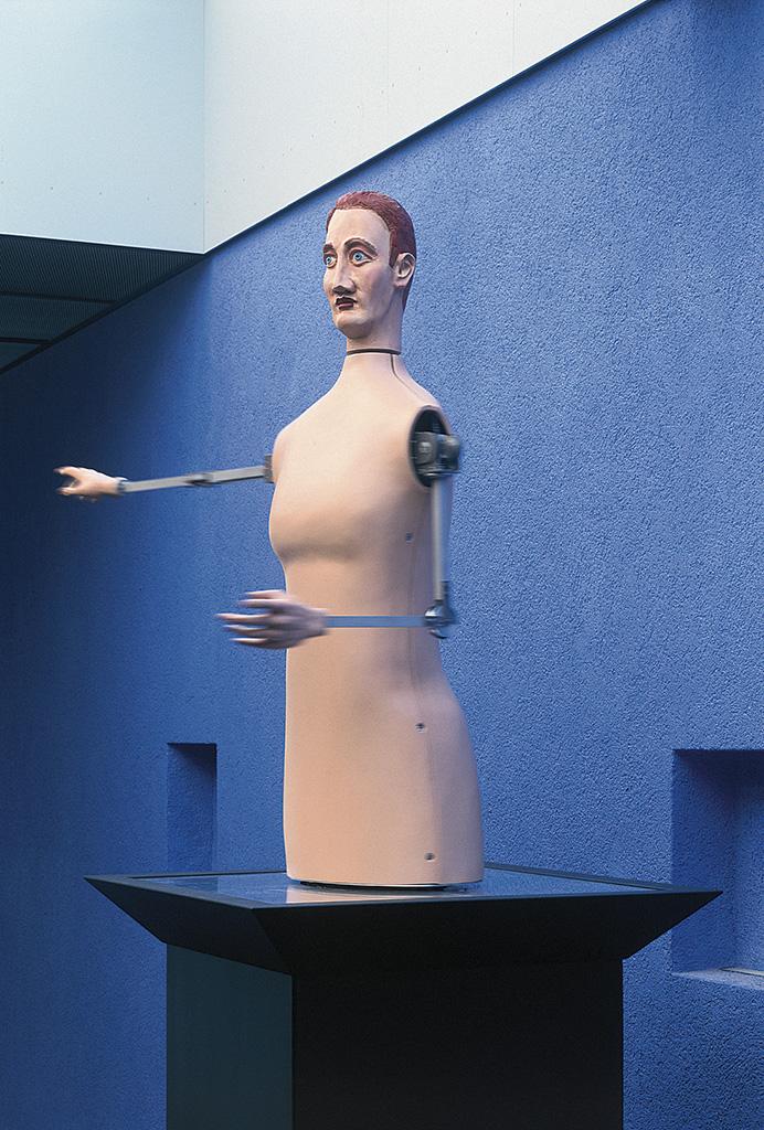 Der Halbleiter von Chemnitz, 1999 (Foto: Hans-Christian Schink)