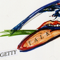 The Getty Talk, Titelblatt, 1991