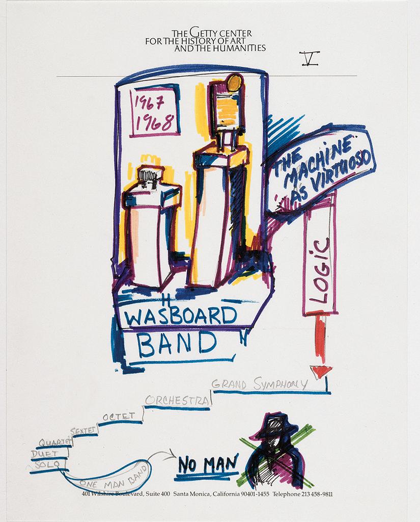 Getty Talk, Washboard Band, 1991