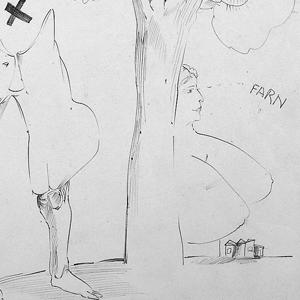 Pasadena Bleistiftzeichnungen
