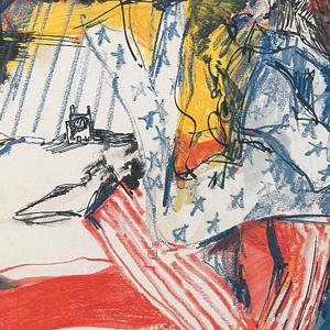 Uncle Sam und die Freiheitsstatue, 1955