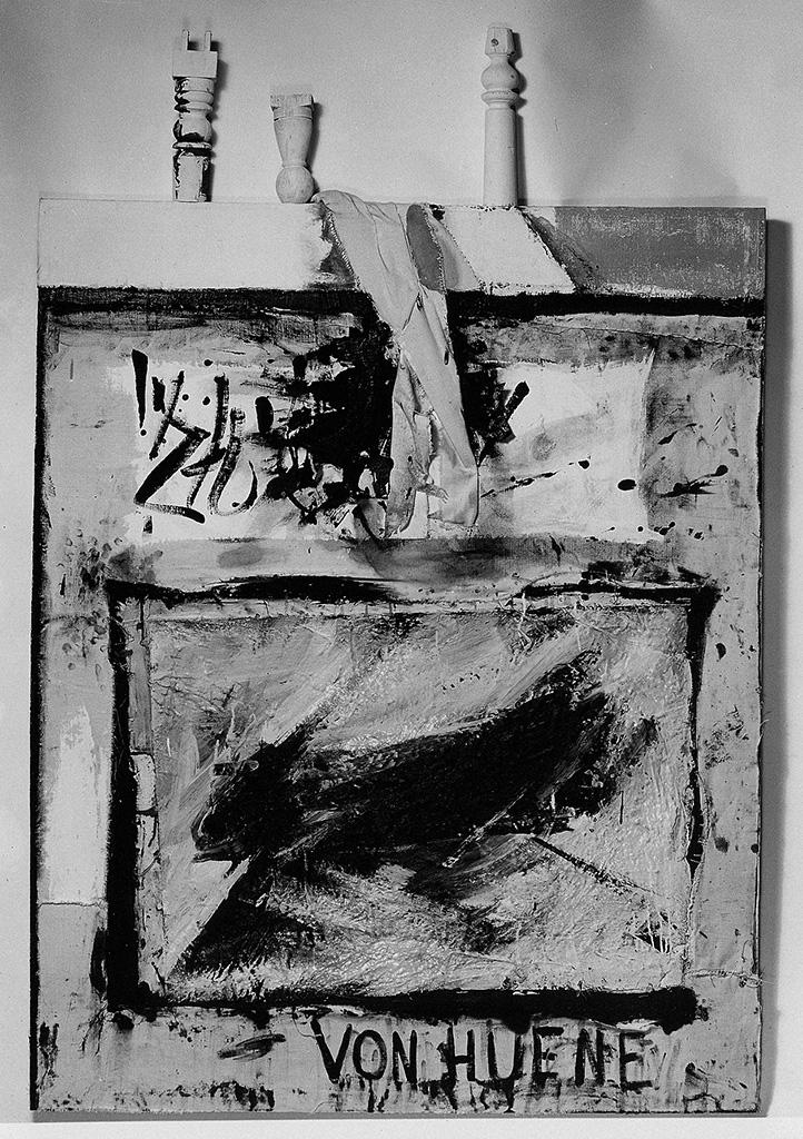 Ohne Titel (Stuhlbeine und Tischtuch), 1960