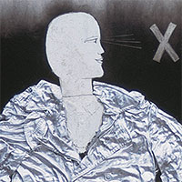 Assemblagen, X (Regenmantel), 1963