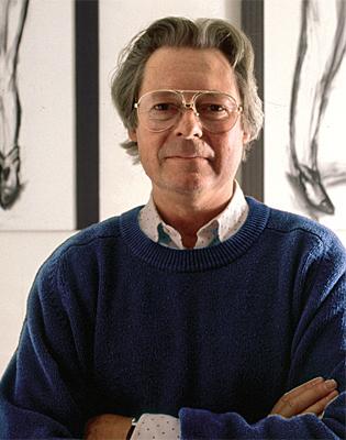 Stephan von Huene und Tisch Tänzer, ca. 1995