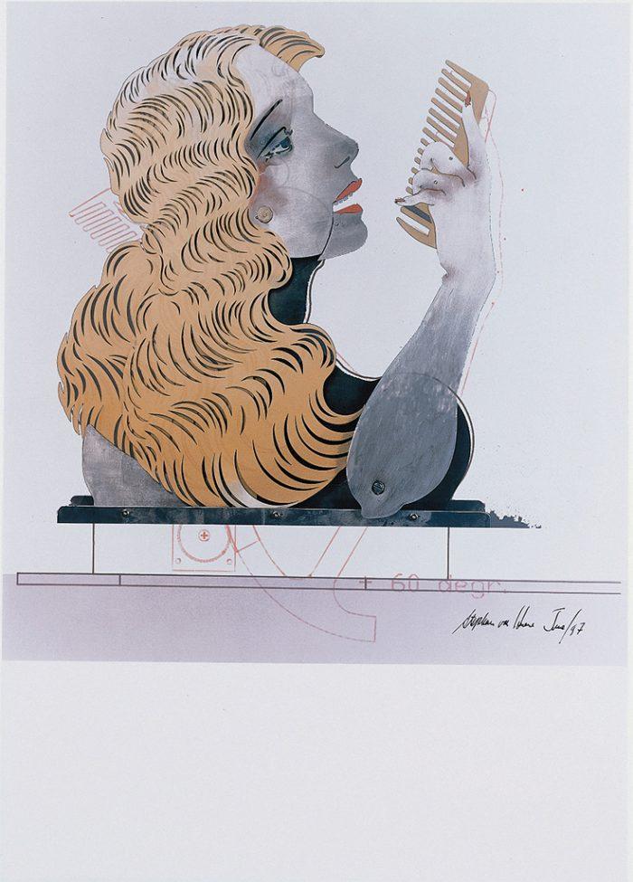 Ohne Titel (Die Neue Lore Ley II) Blatt X, 1997