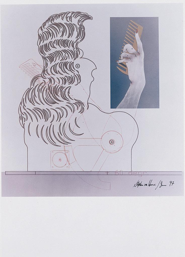 Ohne Titel (Die Neue Lore Ley II) Blatt VI, 1997