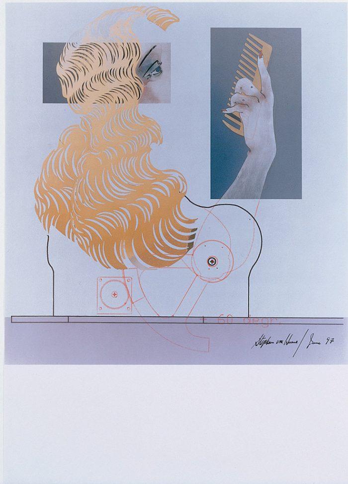Ohne Titel (Die Neue Lore Ley II) Blatt VII, 1997