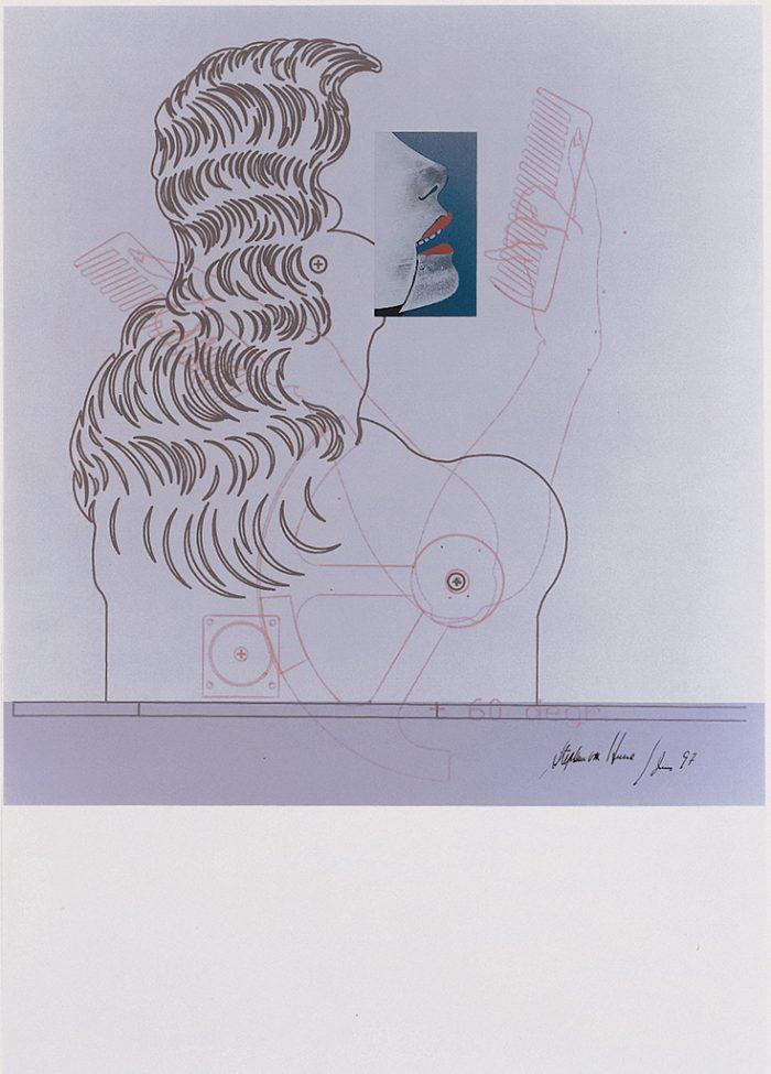 Ohne Titel (Die Neue Lore Ley II) Blatt IV, 1997