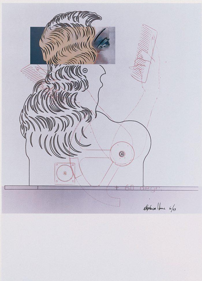 Ohne Titel (Die Neue Lore Ley II) Blatt V, 1997