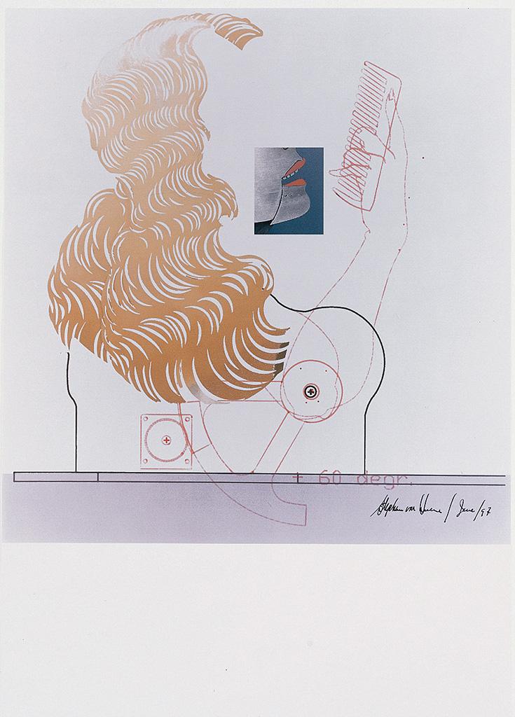 Ohne Titel (Die Neue Lore Ley II) Blatt II, 1997