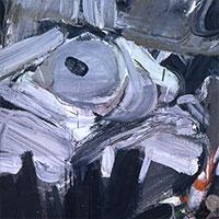 Ölbilder, Ohne Titel (Auge), 1955