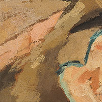 Ölbilder, Ohne Titel (Melone), 1950