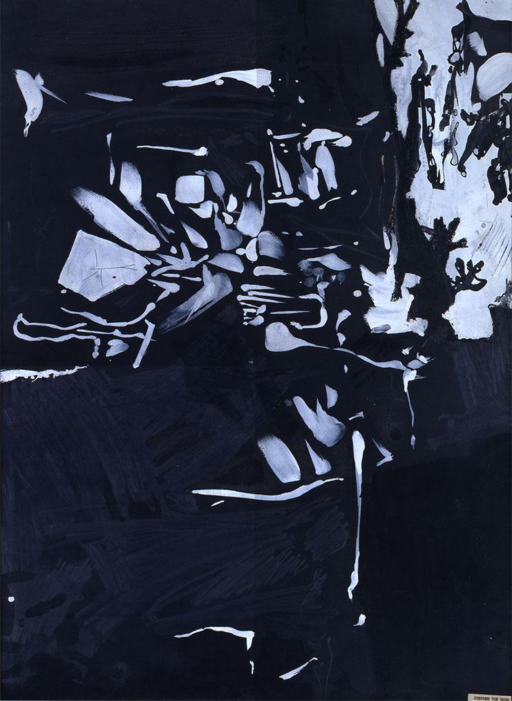 Ohne Titel (Tropfstein), 1955