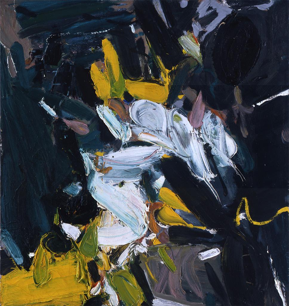 Ohne Titel (Weiße Welle), 1955