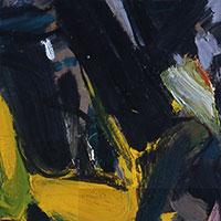 Ölbilder, Ohne Titel (Weiße Welle), 1955