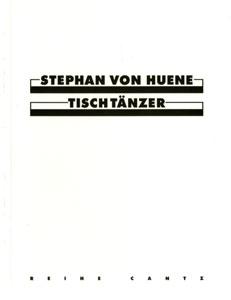 Tisch Tänzer Monographie 1995