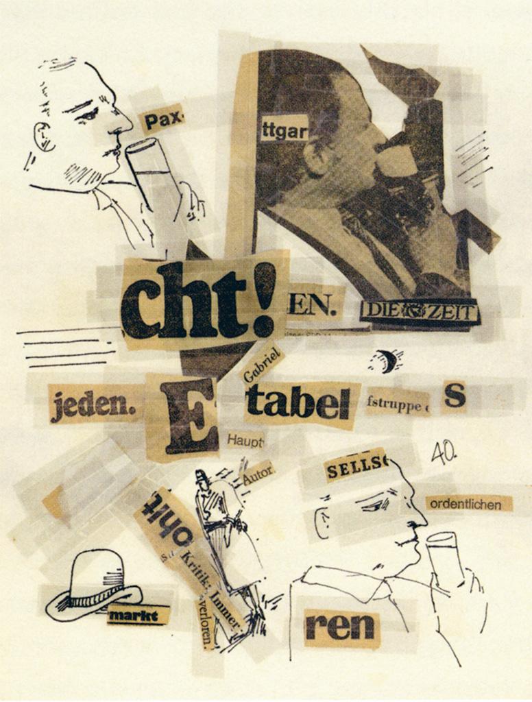 ZEIT-Collagen, Blatt 40, 1980