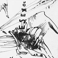 Federzeichnungen, Ohne Titel (ESEXOL), 1964