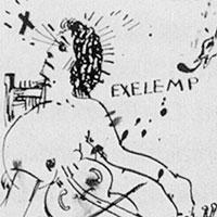 Federzeichnungen, Ohne Titel (EXELEMP), 1964