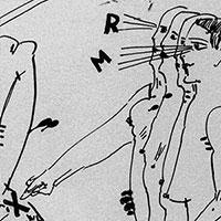Federzeichnungen, Ohne Titel (RM), 1964
