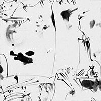 Federzeichnungen, Ohne Titel, 1964