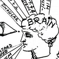 Weitere Mind Maps, Ohne Titel (Interface III), 1992