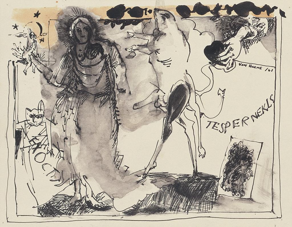 Ohne Titel (TESPERNEKLS), 1961