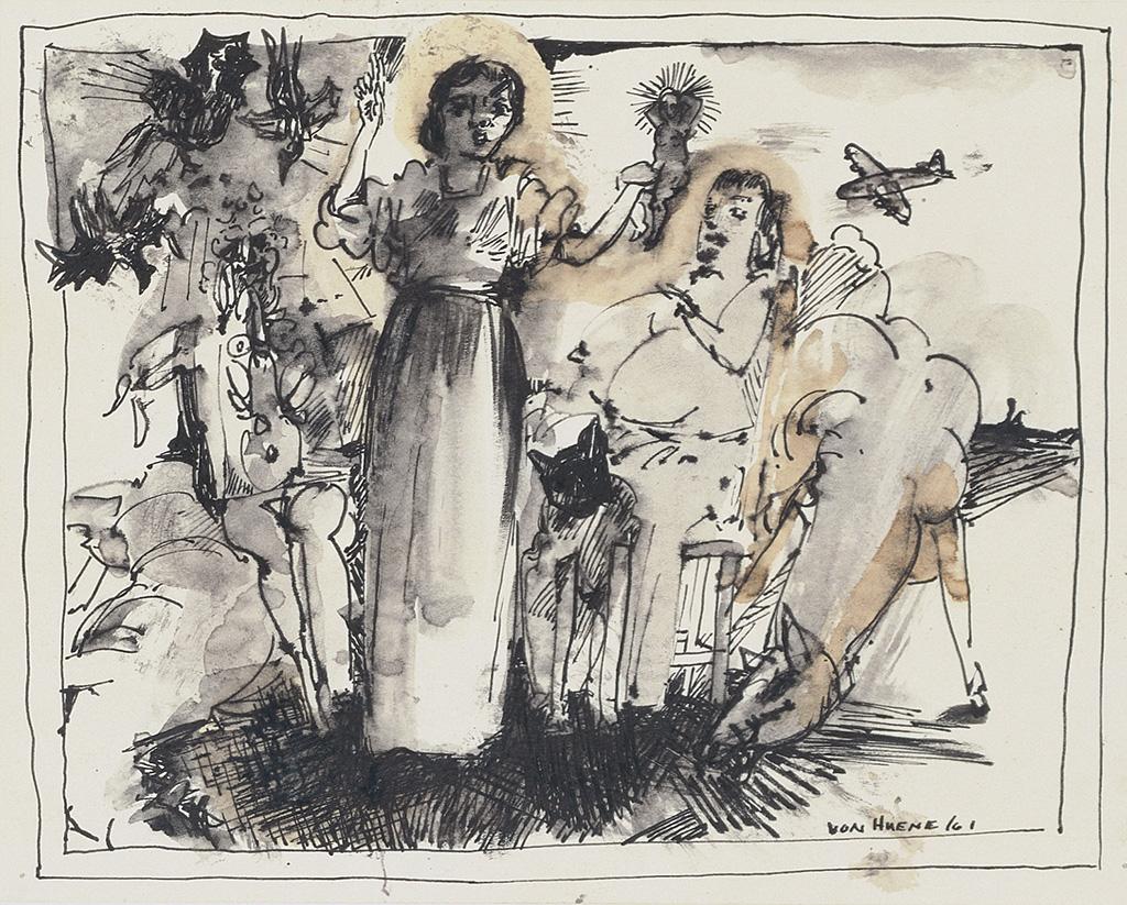 Ohne Titel, 1961
