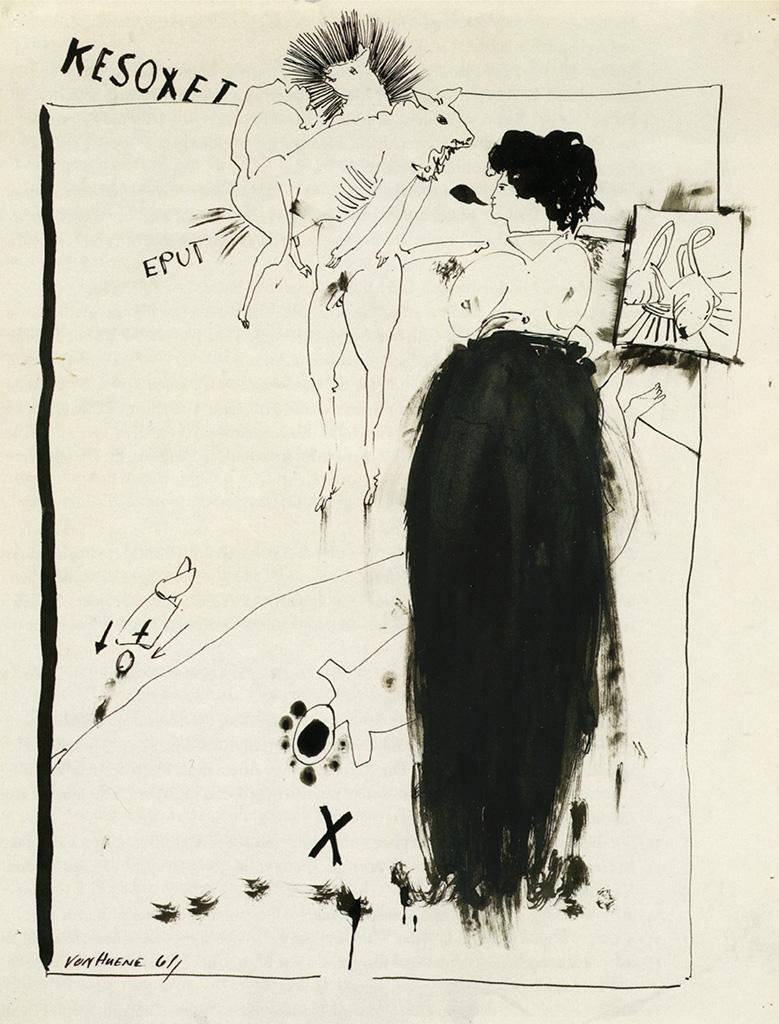 Ohne Titel (KESOXET), 1961